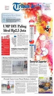 Cover Tribun Jogja 18 Oktober 2018
