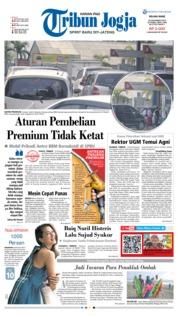 Cover Tribun Jogja 20 November 2018