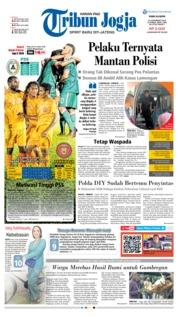 Cover Tribun Jogja 21 November 2018