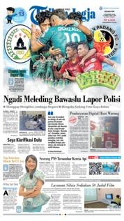 Cover Tribun Jogja 04 Desember 2018