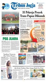 Cover Tribun Jogja 05 Desember 2018