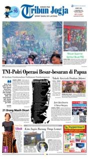 Cover Tribun Jogja 07 Desember 2018