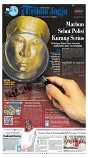 Cover Tribun Jogja 09 Desember 2018