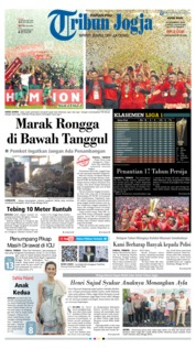 Cover Tribun Jogja 10 Desember 2018