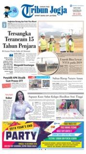 Cover Tribun Jogja 15 Desember 2018