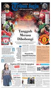 Cover Tribun Jogja 16 Desember 2018