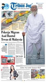 Cover Tribun Jogja 22 Januari 2019