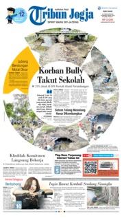 Cover Tribun Jogja 13 Februari 2019