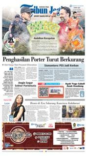 Cover Tribun Jogja 15 Februari 2019