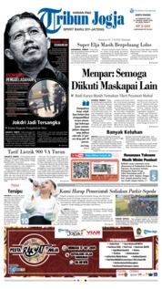Cover Tribun Jogja 16 Februari 2019