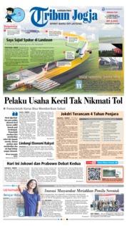 Cover Tribun Jogja 17 Februari 2019