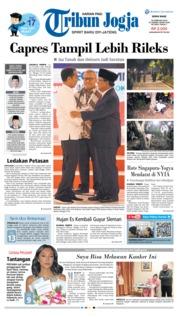 Cover Tribun Jogja 18 Februari 2019