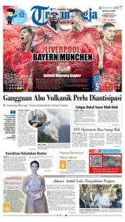 Cover Tribun Jogja 19 Februari 2019