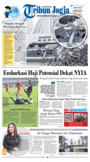 Cover Tribun Jogja 21 Februari 2019