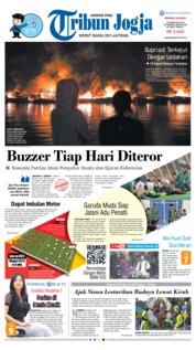 Cover Tribun Jogja 24 Februari 2019