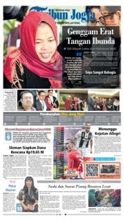 Tribun Jogja Cover 12 March 2019