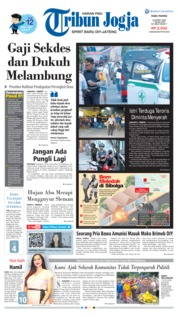 Tribun Jogja Cover 13 March 2019