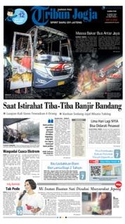 Tribun Jogja Cover 14 March 2019