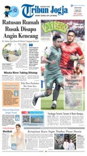 Tribun Jogja Cover 15 March 2019