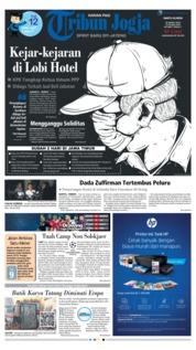 Cover Tribun Jogja 16 Maret 2019
