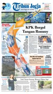 Cover Tribun Jogja 17 Maret 2019