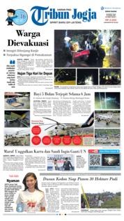 Cover Tribun Jogja 18 Maret 2019