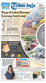 Cover Tribun Jogja 20 Maret 2019