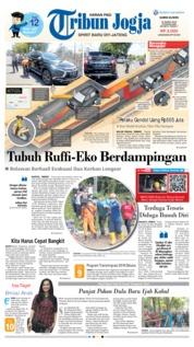 Cover Tribun Jogja 21 Maret 2019