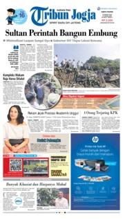 Cover Tribun Jogja 23 Maret 2019