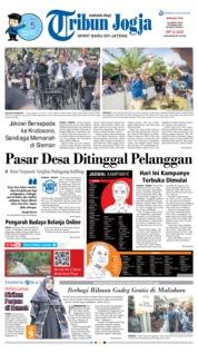 Cover Tribun Jogja 24 Maret 2019