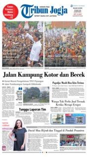 Cover Tribun Jogja 26 Maret 2019
