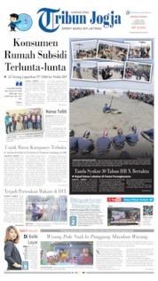 Cover Tribun Jogja 07 April 2019