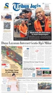 Cover Tribun Jogja 11 April 2019