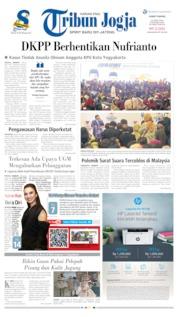 Cover Tribun Jogja 12 April 2019