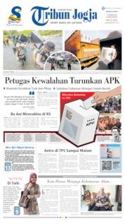 Cover Tribun Jogja 15 April 2019