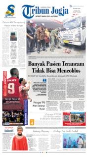 Cover Tribun Jogja 16 April 2019