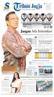 Cover Tribun Jogja 17 April 2019