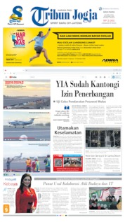 Cover Tribun Jogja 22 April 2019