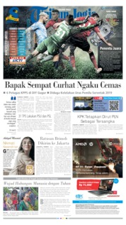 Cover Tribun Jogja 24 April 2019