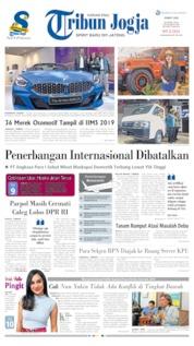 Tribun Jogja Cover 26 April 2019