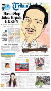 Cover Tribun Jogja 14 Mei 2019