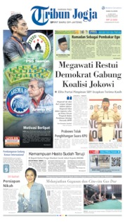 Cover Tribun Jogja 15 Mei 2019