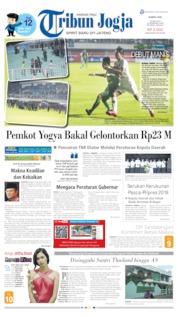 Cover Tribun Jogja 16 Mei 2019