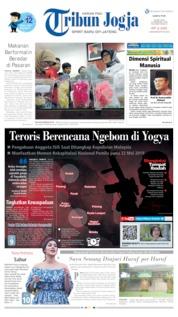 Cover Tribun Jogja 18 Mei 2019