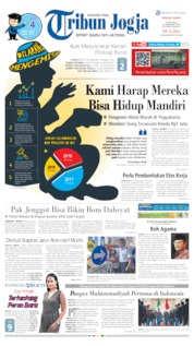 Cover Tribun Jogja 19 Mei 2019