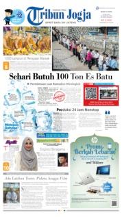Cover Tribun Jogja 20 Mei 2019