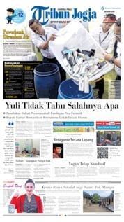 Cover Tribun Jogja 21 Mei 2019
