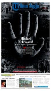 Cover Tribun Jogja 23 Mei 2019