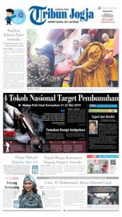 Cover Tribun Jogja 28 Mei 2019