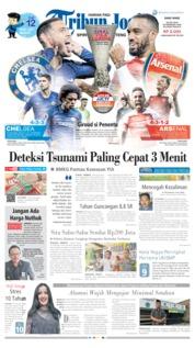 Cover Tribun Jogja 29 Mei 2019